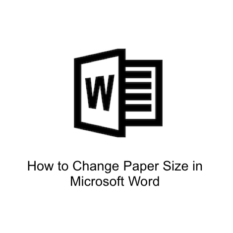 How to change paper size in Microsoft Word