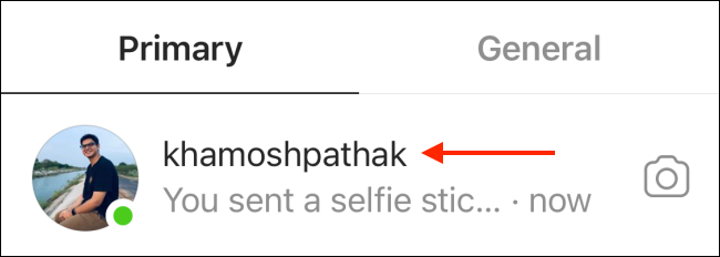 choose a conversation to send selfie sticker