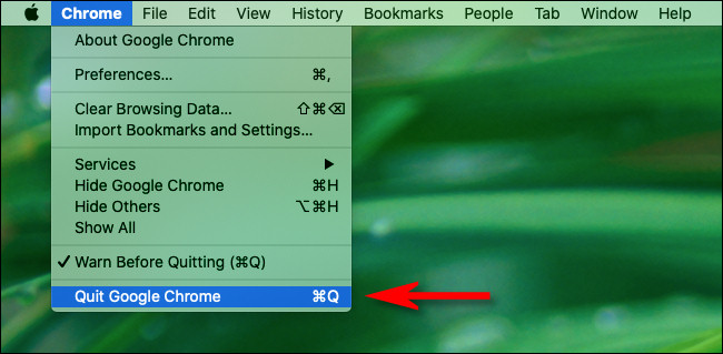 How to Close All Google Chrome Windows on Mac
