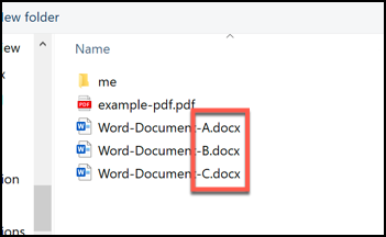 select as many documents to merge as you want